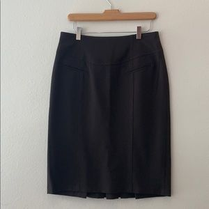 Grace Elements Dark Brown Pencil Skirt In Size 10P
